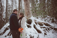 Winter Wedding Elopement