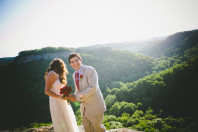 Overlook Wedding in midwest
