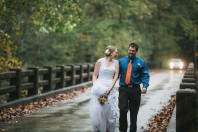 Fall outdoor wedding in Kentucky