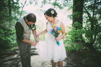 Simple Kentucky Wedding Ceremony