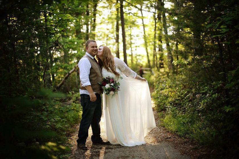 Kentucky elopement and destination wedding red river gorge wedding junglespirit Images